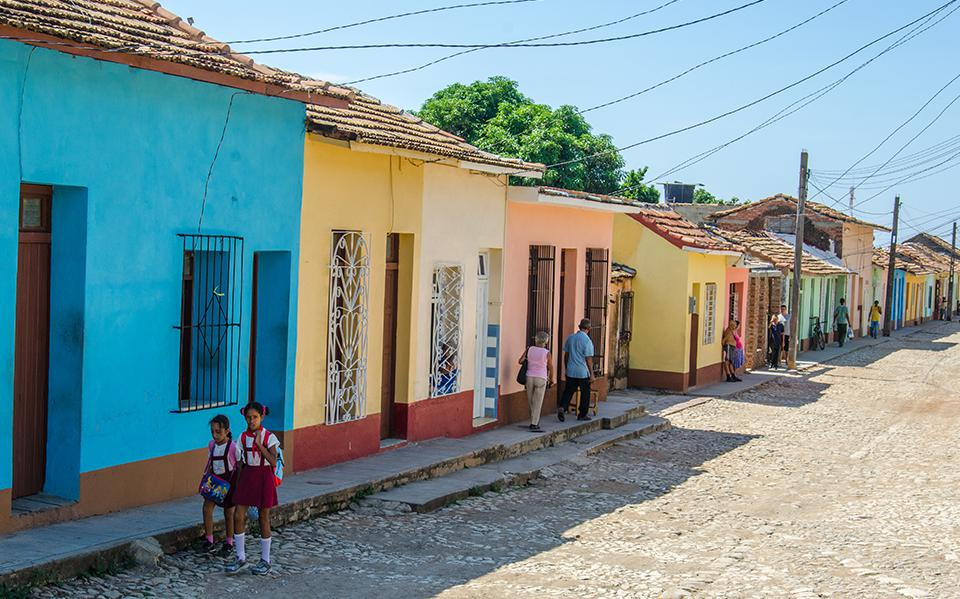 colonial houses in Cuba